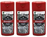 Old Spice Swagger Red Zone Body Wash Travel Size 3 Oz (Pack Of 3)