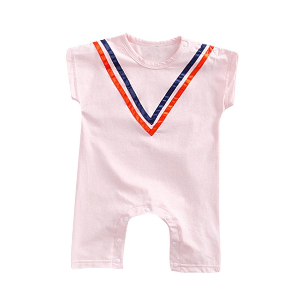 Diadia - Mono de bebé con estampado de rayas para niños y niñas ...