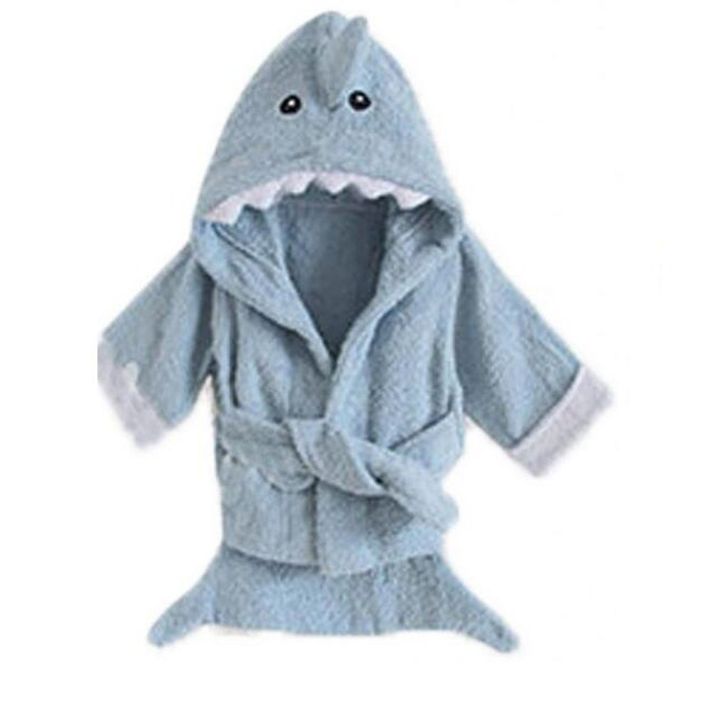 Yunsen Baby Girls & Boys Hooded Animal Bathrobe Robes Bath Towel Super Soft
