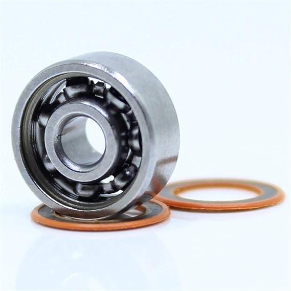 Ochoos 1PC 4X11X4mm SMR694 2OS CB ABEC7 Stainless Steel Hybrid Ceramic Fishing Reel Shaft Bearings by GCH