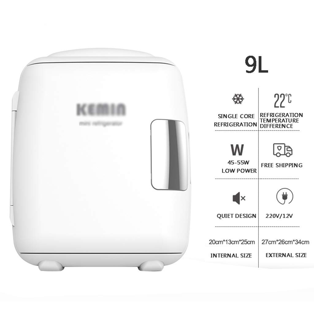 Amazon.es: WYJW Refrigerador portátil 9l, Mini congelador frío y ...