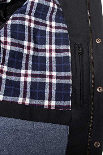 Noir Pisanio D'hiver Veste solid Jacket Tqwv6g6