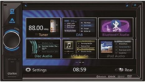Clarion Navigation Auto Radio 2 Din Dvd Usb Hdmi Mit Elektronik