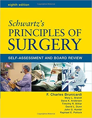 Schwartz Principles Of Surgery Board Review Pdf