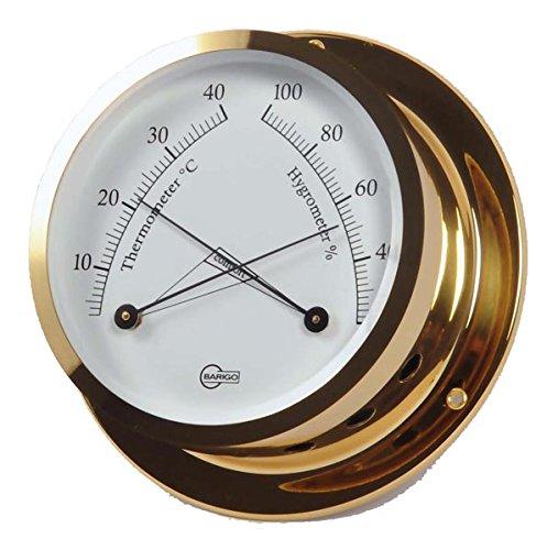 Barigo Termometro/Igrometro Star ottone