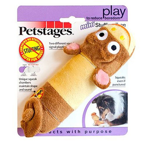 Petstages No Stuffing LiL Squeak Monkey Dog Toy Only $2.15