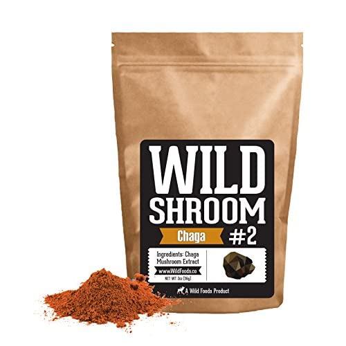 Chaga Mushroom Extract 10:1 by Wild Foods | Wild Harvested, Vegan, Paleo, All-Natural Adaptogenic Nootropic Superfood 5116 fOgVrL  Home Page 5116 fOgVrL