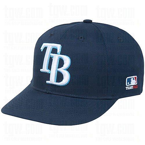 Tampa Bay Rays MLB OC Sports Navy Blue w/ White TB Logo Hat Cap Adult Men's ()