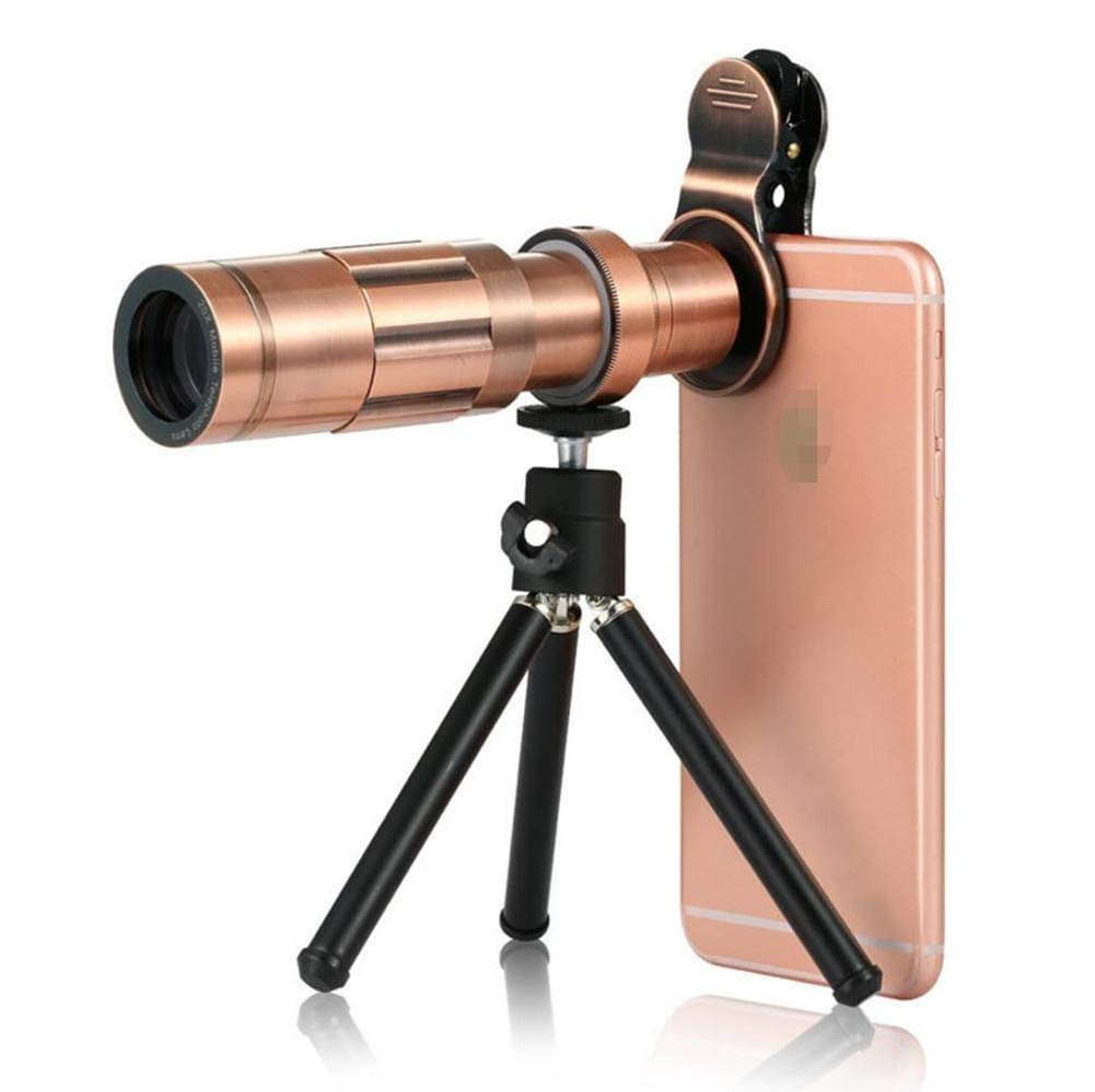 DOOLST ブロンズ 携帯電話カメラレンズ 望遠鏡レンズ B07GR6RTF6 望遠鏡レンズ 光学HD 20倍ズーム電話レンズ 望遠レンズキット 三脚付き ブロンズ B07GR6RTF6, ペットの専門店コジマ:d1628760 --- ijpba.info