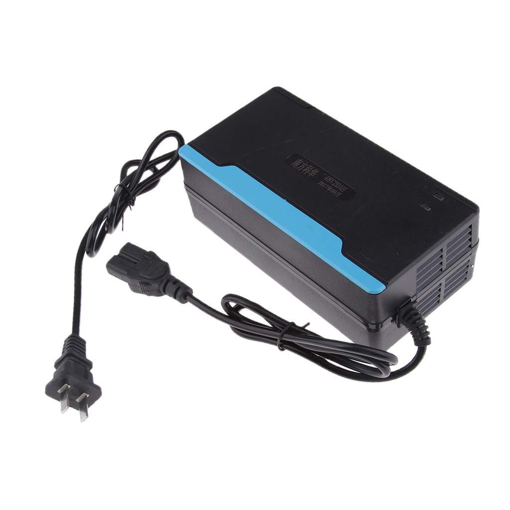 Homyl Cargador de Bater/ía 48 voltios 2.5 Amp Modificaci/ón Duradero Recambio