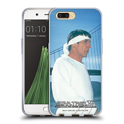 Official Star Trek Vulcan Robe Headband Spock The Voyage Home Tos Soft Gel Case For Oppo R11