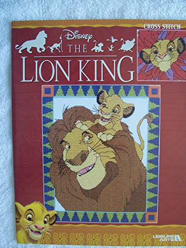 Disney The Lion King Cross Stitch by Leisure Arts