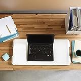 VARIDESK - Height-Adjustable Standing Desk - Soho - White