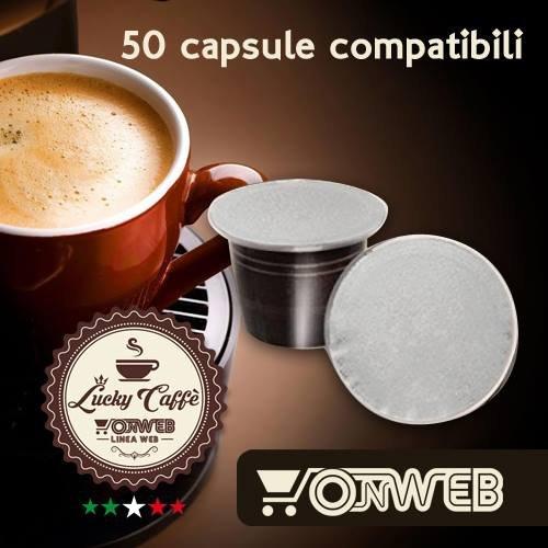 2 opinioni per 50 Capsule compatibili Nespresso