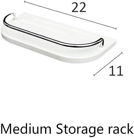 US Wall-mounted Storage Rack Hanging Organizer Sundries Iron Shelf Decor Home
