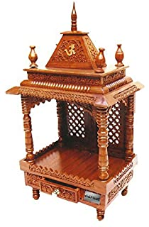 Aarsun Wooden Temple / Mandir 60 For Home U0026 Office : Great Indian Sale !
