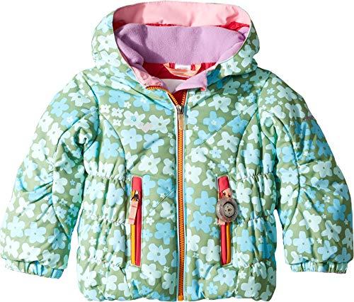 Obermeyer Kids Baby Girl's Cakewalk Jacket (Toddler/Little Kids/Big Kids) Flowerful Print 5 ()