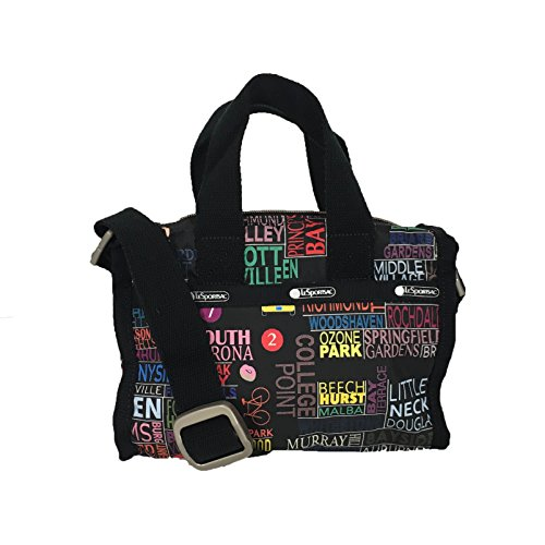 LeSportsac Essential Mini Weekender Crossbody Bag, NYC Empire State C