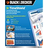 BLACK + DECKER TimeShield Thermal Laminating Pouches, Letter - 25 Pack (LAMLET3-25)