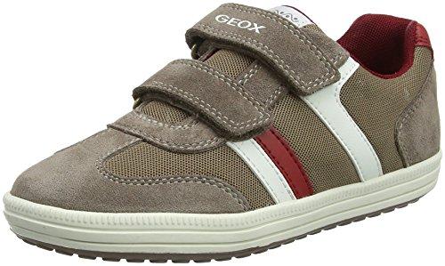 Geox Jr Vita B, Zapatillas Para Niños Beige (Beige/brick)