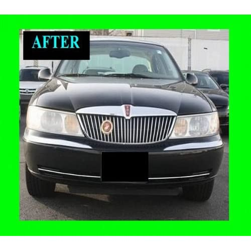 1998-2002 LINCOLN CONTINENTAL LOWER CHROME GRILLE GRILL KIT 1999 2000 2001 98 99 00 01 02 LIMITED EXECUTIVE free shipping