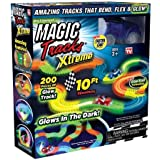 Ontel Magic Tracks Xtreme with Race Car and 10 ft of Flexible, Bendable Glow in the Dark Racetrack, As Seen on TV