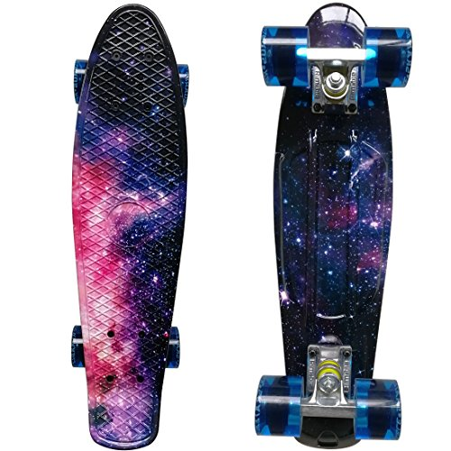 "RIMABLE Complete 22"" Skateboard Galaxy2"
