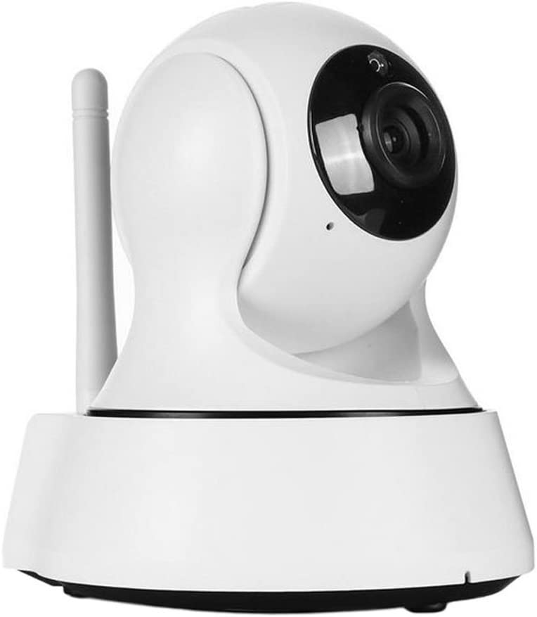 Home Security Camera, Wireless IP Camera Surveillance System Video Baby Monitor, Two-Way Audio, Night Vision, Motion Detection WiFi Camera + Free 62GB Micro SD Card (White)