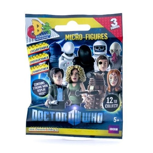 Doctor Who Micro Building Figures Random Character Series 3 Blind Pack