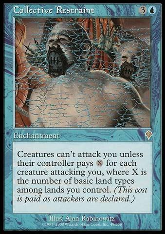Magic: the Gathering - Collective Restraint - Invasion