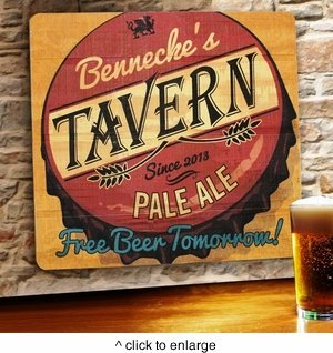 free-beer-tomorrow-personalized-wood-tavern-bar-sign
