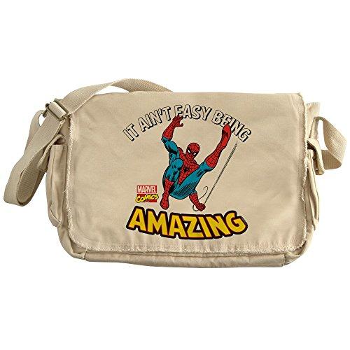 CafePress - Spider-Man Amazing - Unique Messenger Bag, Canvas Courier Bag by CafePress