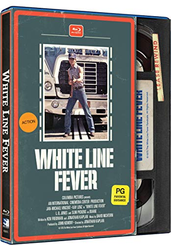 White Line Fever - Retro VHS Style [Blu-ray]