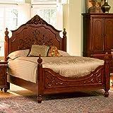 Coaster B3 = Bed, Rails, Box 3 Of 3-Oak