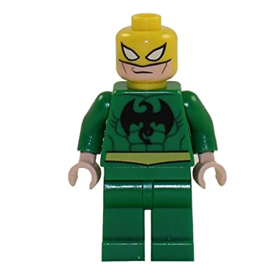 Lego Super Heroes Iron Fist Minifigure: Toys & Games