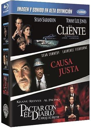 Pack: El Cliente + Causa Justa + Pactar Con El Diablo Blu-ray ...