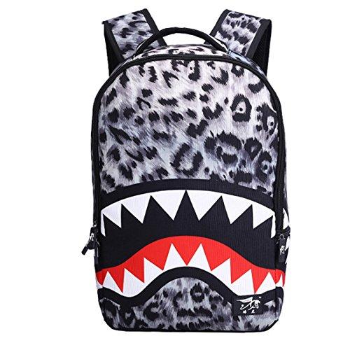 dos cool à dos à à sac air Shark plein de sac livre sac en dos Gris Dunland sac voyage sports en wnzx74qY