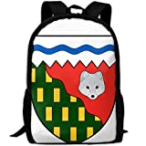 Most Durable Lightweight Summer Rucksack Daypack For Outdoor Camping - Coat Of Arms Of The Northwest Territories