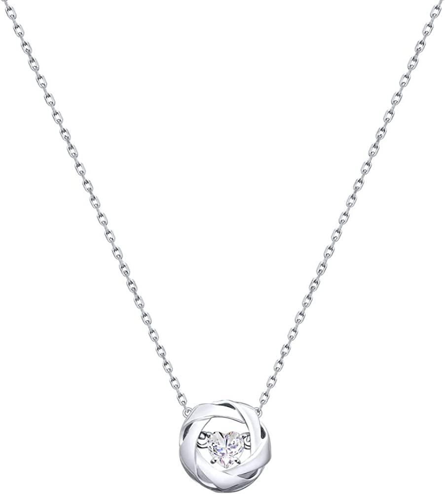 Circle Snake Pendant Charm .925 Sterling Silver Hand Set Micro Pave