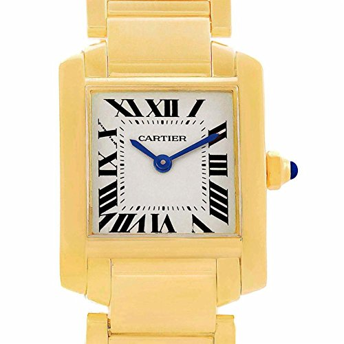 Cartier Tank Francaise quartz womens Watch W50002N2 (Certified Pre-owned)
