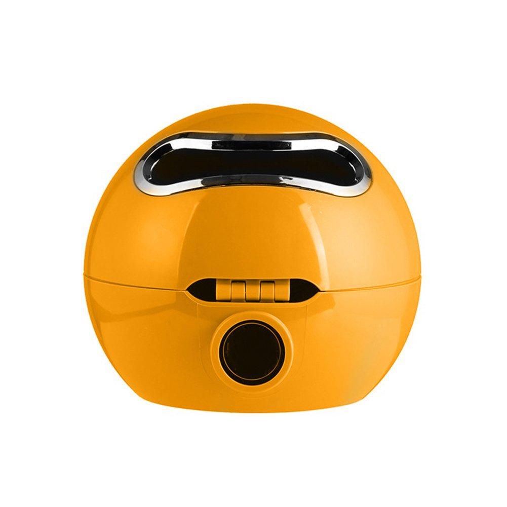 Finance Plan Ball Emoji Facial Tissue Bathroom Toilet Roll Paper Box Holder Storage Container Black