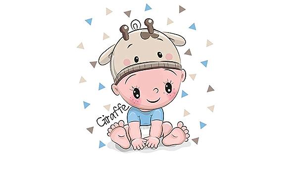 10x10ft Cartoon Boy Baby Shower Backdrop Vinyl Its a Boy Blue Crib Sleeping Baby Jumpsuit Feeder Rocking Horse Bib Illustration Background Boy Baby Shower Birthday Party Banner