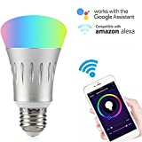 Wifi Smart LED Light Bulb Works with Alexa Review and Comparison