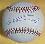 Vladimir Guerrero Autographed Los Angeles Angels OML Baseball JSA