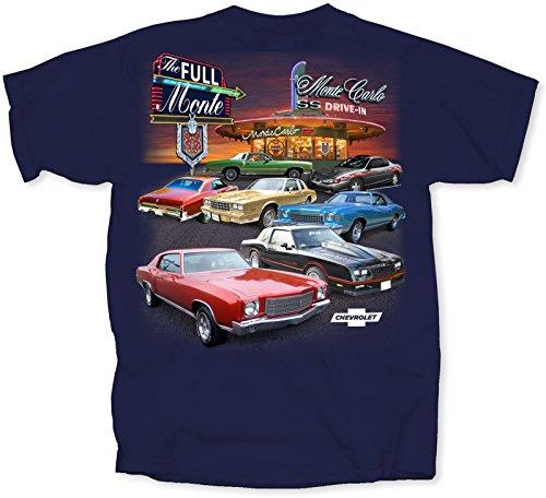 Chevy Monte Carlo - Monte Carlo SS T-shirt - by JBTs (Monte Carlo Ss)