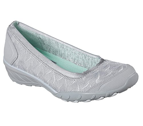 The Game Play Ballerine Chiusa Punta Savvy Donna Grey Skechers aBwqEn