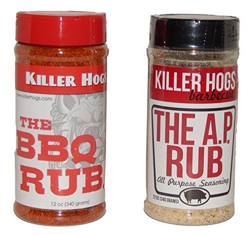 Killer Hogs The BBQ Rub and The A. P. Rub Combo Pack