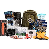 Sustain Supply Co. Premium Emergency Preparedness Go Bag Perfect For Your Family - 72 Hours of Everything You Need To Survive Emergency Disasters, Hurricanes, Earthquakes