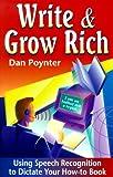 Write and Grow Rich, Dan Poynter, 1568600585