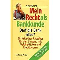 Mein Recht als Bankkunde